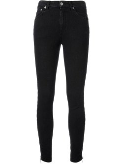 Saint Laurent  - Skinny Zip Jeans