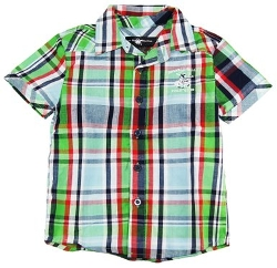 Beverly Hills Polo Club - Plaid Short Sleeve Shirt