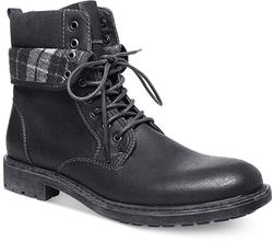 Steve Madden - Madden Neptun Plaid Collar Boots