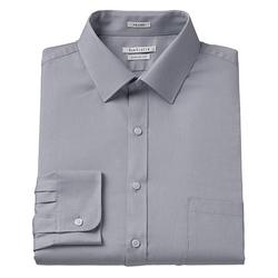 Van Heusen - Classic-Fit Pincord Spread-Collar Dress Shirt