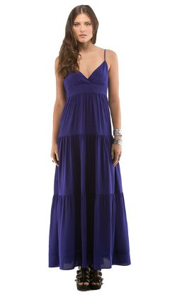 Cynthia Vincent - Tie Back Empire Maxi Dress