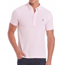 Polo Ralph Lauren  - Solid Short Sleeve Polo Shirt