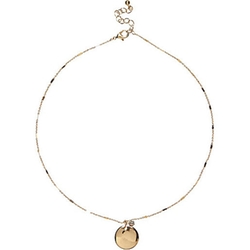 River Island - Delicate Coin Necklace