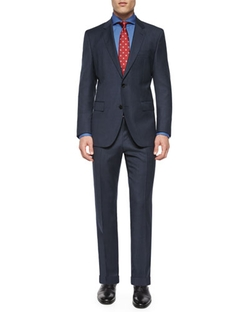 Boss Hugo Boss - Solid Two-Piece Wool Suit