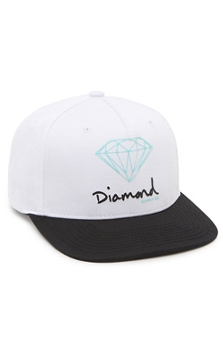 Diamond Supply Co  - OG Script Snapback Hat