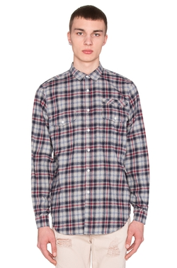 Stampd - Plaid Flannel Button Down Shirt