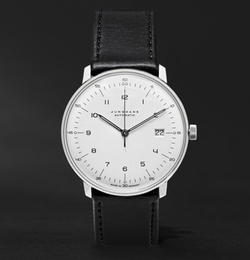 Junghans - Max Bill Automatic Leather Watch