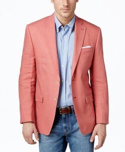 Lauren Ralph Lauren  - Solid Linen Classic-Fit Sport Coat