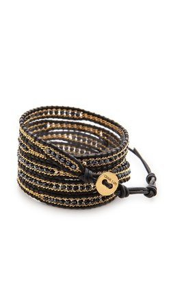 Chan Luu  - Beaded Wrap Bracelet