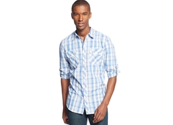 INC International Concepts  - Ramirez Plaid Shirt