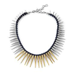 Wonder Smith - TWO TONE SPIKE NECKLACE