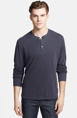 James Perse - Henley Sweatshirt