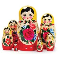 BestPysanky - Trio Russian Nesting Dolls