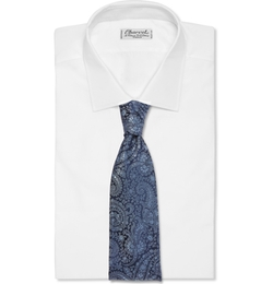 Charvet - Paisley-Patterned Woven-Silk Tie