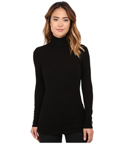 Michael Stars  - Rib Long Sleeve Turtleneck Top