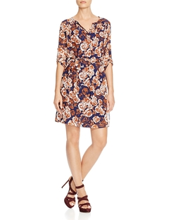 Kut From The Kloth - Aubrey Floral Print Shirt Dress