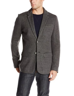 John Varvatos  - Notch Lapel Sweater Jacket