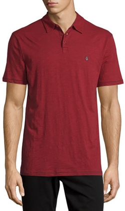 John Varvatos - Star USA Peace Short-Sleeve Polo Shirt