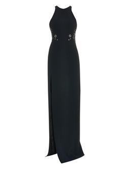 Mugler - Cutaway Embellished Dress