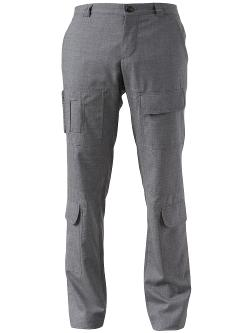 BRUNELLO CUCINELLI  - cargo side pocket trouser
