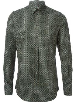 Dolce & Gabbana - Geometric Print Shirt