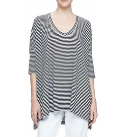 Eileen Fisher - Striped Linen Tunic
