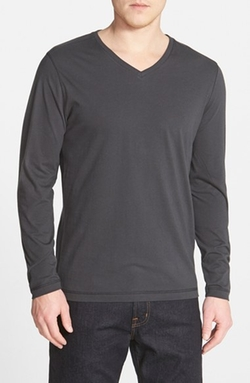 Robert Barakett - Long Sleeve V-Neck T-Shirt