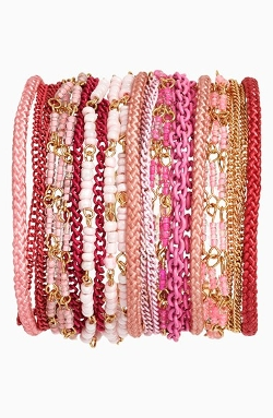 Sequin - Beaded Multistrand Bracelet