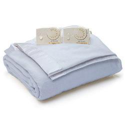 Biddeford  - Satin Edge Electric Heated Warming Blanket