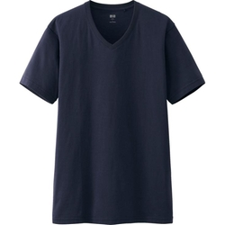 Uniqlo - Supima V Neck T-Shirt