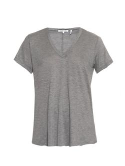 Helmut Lang  - V-Neck Jersey T-Shirt