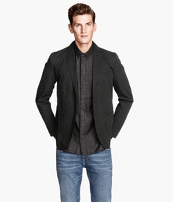 H&M - Cotton Blazer Slim Fit
