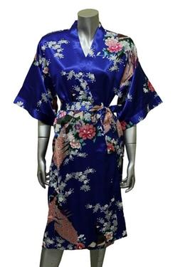 Artiwa - Kimono Style Satin Robe