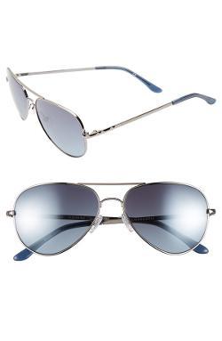 Bcbgmaxazria  - Sunshine 55mm Aviator Sunglasses