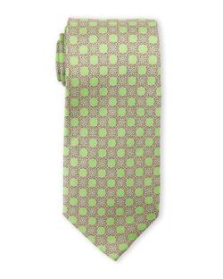 Pierre Cardin - Link Print Silk Tie