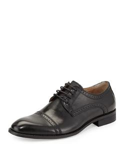 Robert Wayne  - Ethan Cap-Toe Lace-Up Oxford