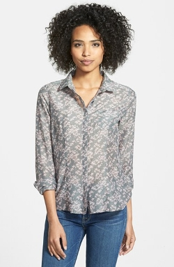 Halogen - Cotton & Silk Shirt