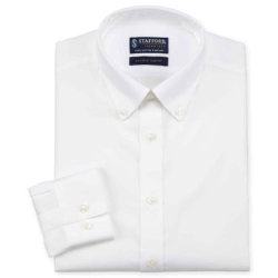 Stafford - Executive Non-Iron Cotton Pinpoint Oxford Shirt