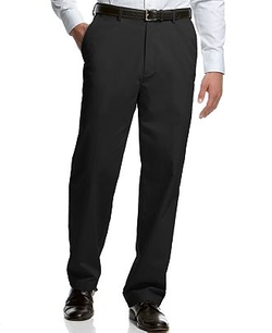 Haggar - Classic-Fit Microfiber Performance Dress Pants