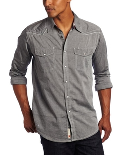 Dakota Grizzly  - Colby Long Sleeve Chambray Shirt