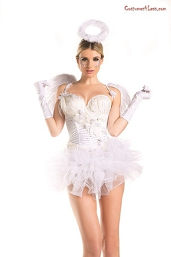 Costumes4Less - White Swan Angel Costume
