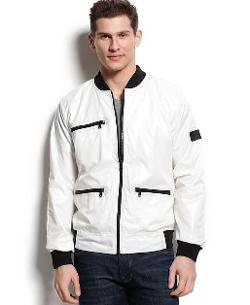 Calvin Klein  - Jeans Zip-Up Bomber Jacket