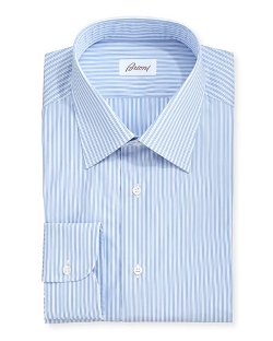 Brioni Stripe  - Dress Shirt