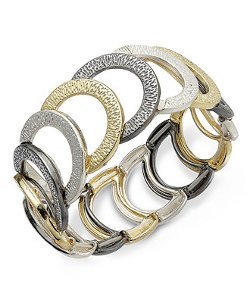 Alfani  - Tritone Cuff Bracelet