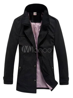 Milano - Breasted Button Trench Coat