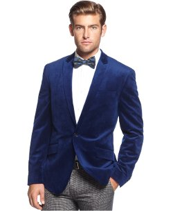 Bar III - Velvet Slim-Fit Sport Coat