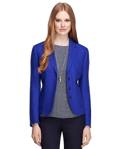Brooks Brothers - Three-Button Wool Blazer