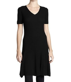 Polo Ralph Lauren - Ribbed V-Neck Dress