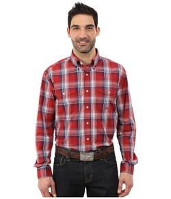 Roper  - Persimmon Plaid Shirt