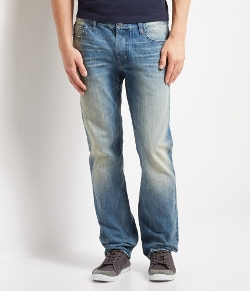 Aéropostale - Slim Straight Light Wash Jean